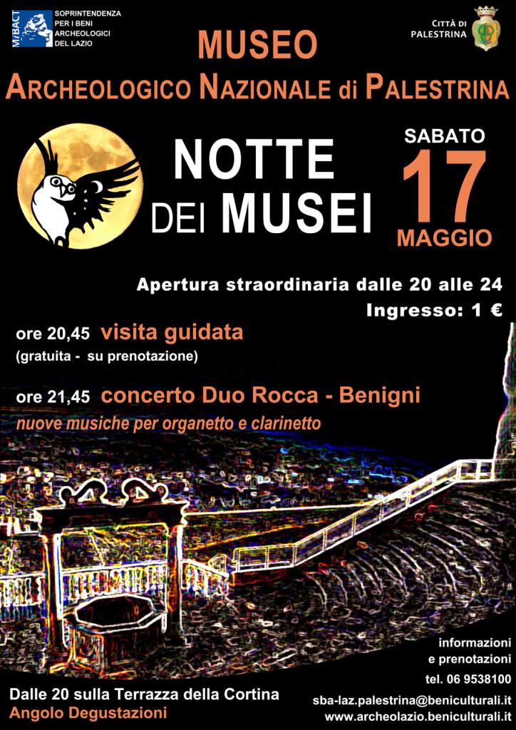 locandina Palestrina_Notte Musei 2014