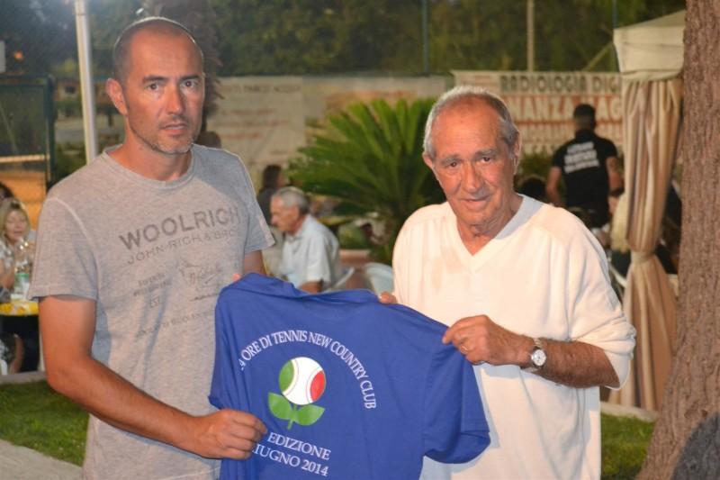 24 ORE DI TENNIS, MARCELLO (a sx) E MODESTO MOLINARI