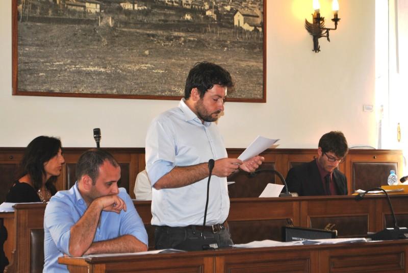 Intervento del consigliere di minoranza Pizziconi