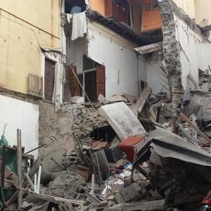 Palestrina, In corso la rimozione delle macerie e la messa in sicurezza