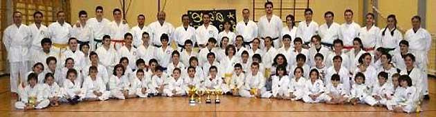 karate foto gruppo