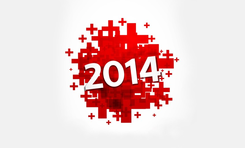 Red-Happy-New-Year-Cool-2014-Wallpaper
