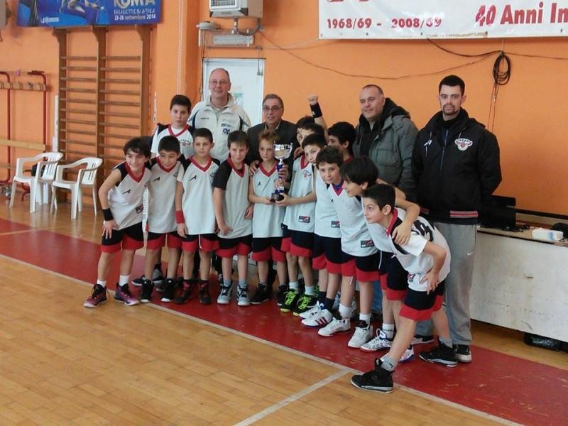 grottaferrata bk gruppo 2003-04 vincente ad albano