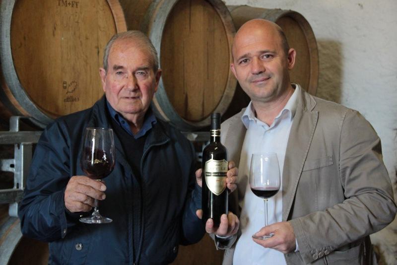 Nero dello Scalambra con Mario Proietti e sindaco Nucheli