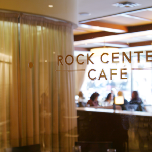 Rock Center Cafè: studenti per lavoro estivo a Manhattan (NewYork)