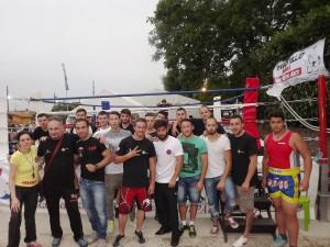 FOTO DI GRUPPO MMA TEAM DI TULLIO LARIANO-