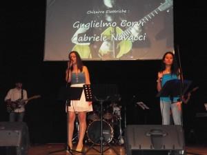 esibizione canto con Sara Bastianelli alla voce