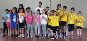 foto di gruppo del torneo bambini
