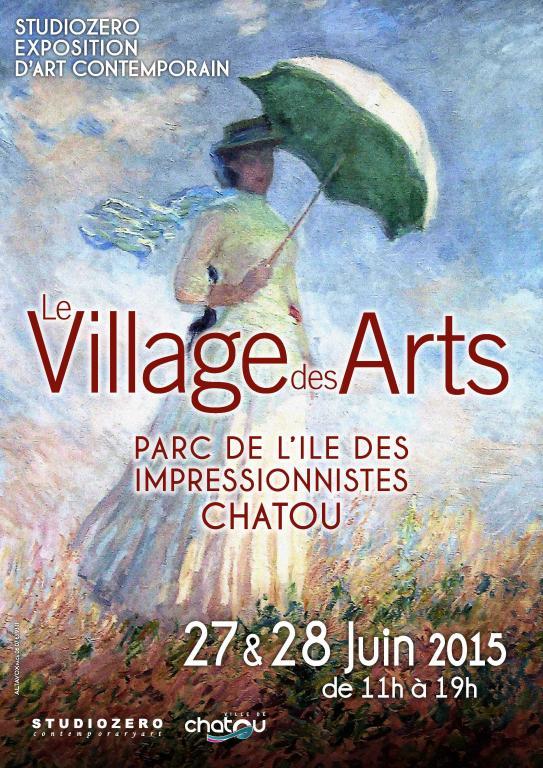 BAT Affiche Village des Arts Chatou 2015