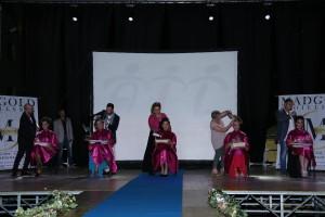 scorsa edizione manifestazione - esibizione dei parrucchieri in pedana