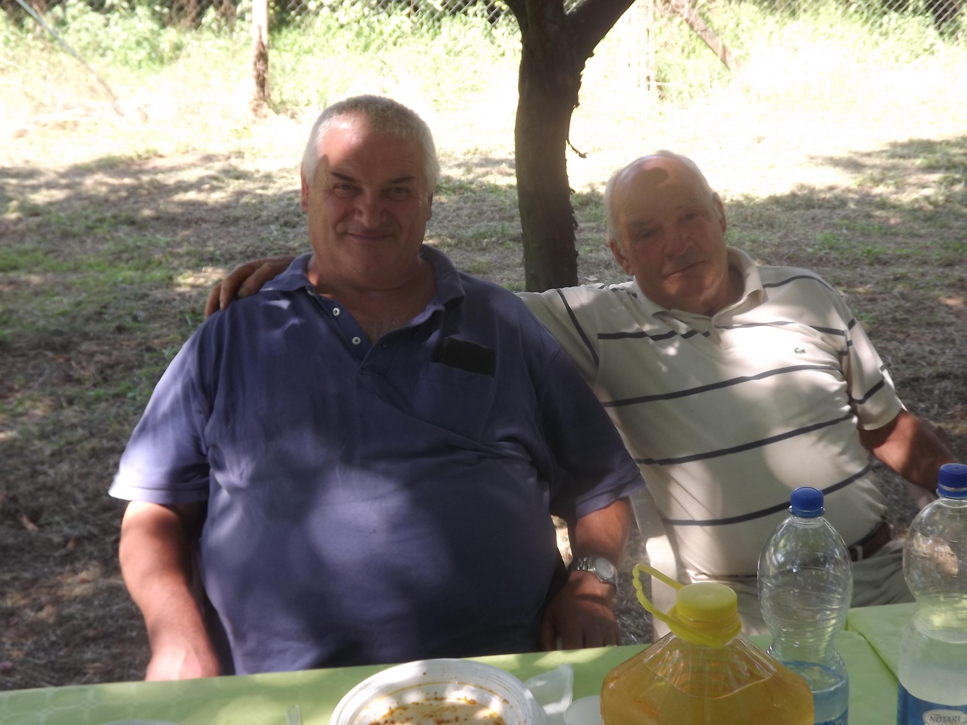 IMMAGINI DEL PRANZO ORGANIZZATO DALLA ITALCACCIA SEZIONE DI LARIANO IN VISTA DELLA PREAPERTURA DELLA CACCIA