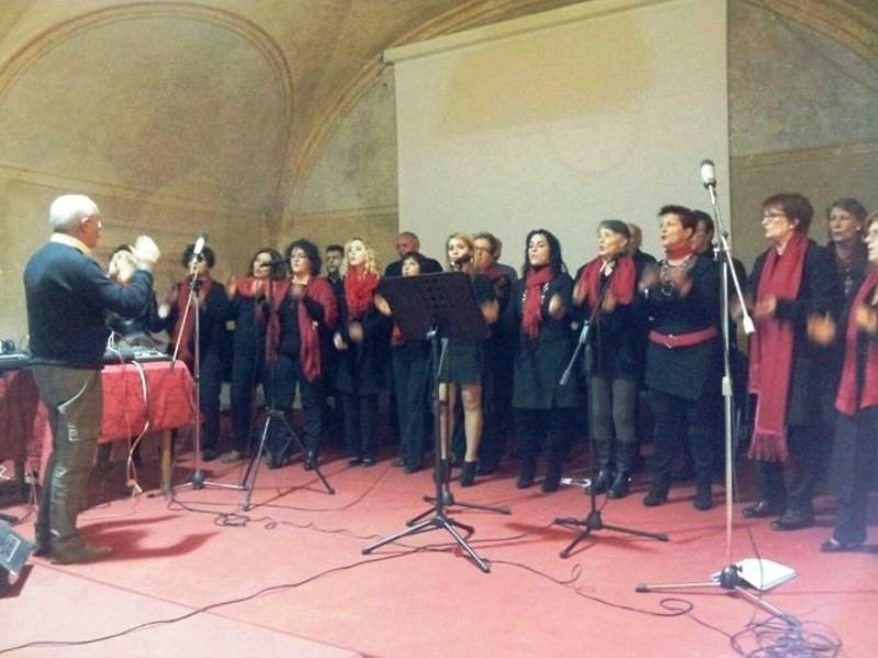 Luciano dirige il Coro