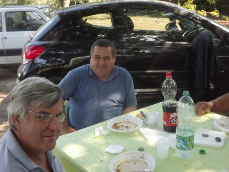 UN MOMENTO DEL PRANZO DELLA ITALCACCIA DI LARIANO