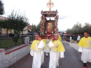 il passaggio della Sacra Immagine della Madonna Del Buon Consiglio