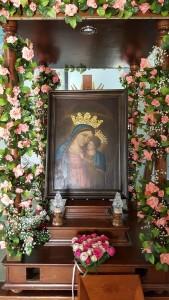 la sacra immagine della Madonna del Buon Consiglio---.