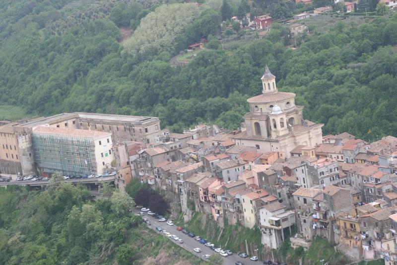 Zagarolo - veduta aerea (Foto: Antonio Gamboni)