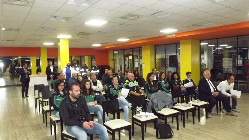 il pubblico che assiste alla conferenza