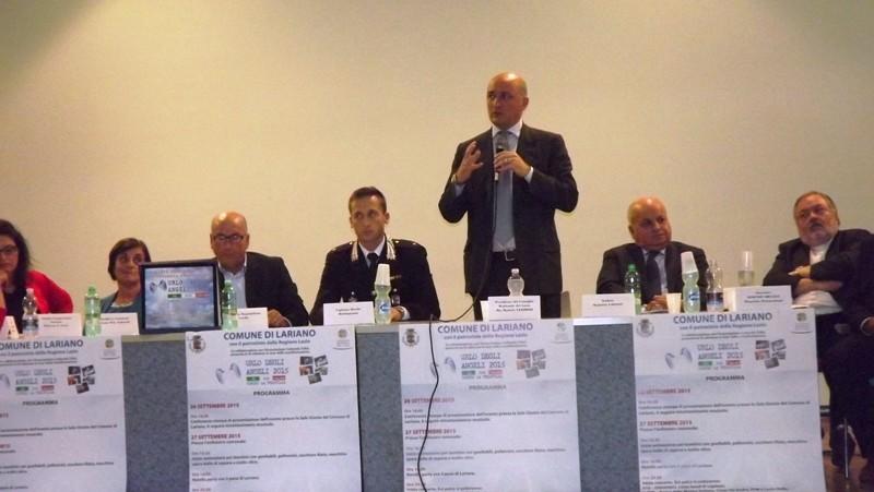 intervento del presidente del consiglio regionale del Lazio Daniele Leodori