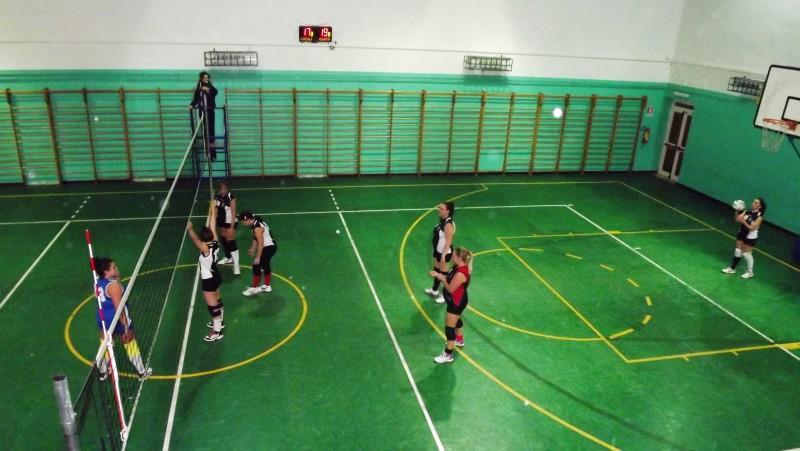 TERZA DIVISIONE PROVE- UNA IMMAGINE DELLA GARA ROSAVOLLEY VELLETRI- ALBALONGA VOLLEY BALL CLUB