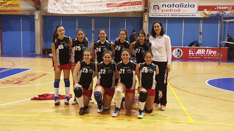 LA ROSAVOLLEY VELLETRI UNDER 14 PROVINCIALE FEMMINILE-