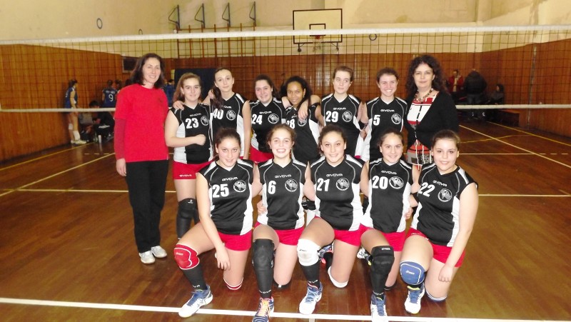 ROSAVOLLEY VELLETRI UNDER 14 PROVINCIALE FEMMINILE-------
