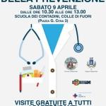 A Colle di Fuori visite gratuite con specialisti sanitari