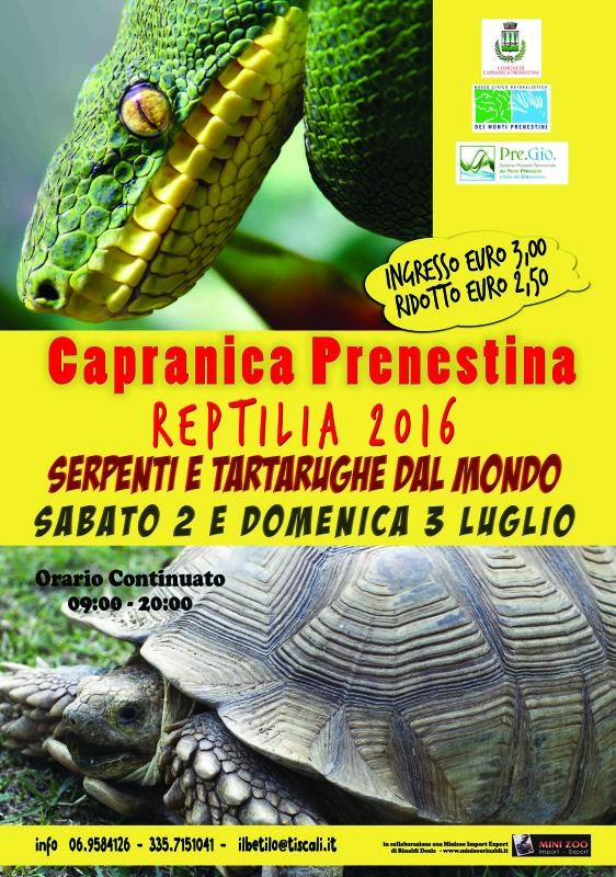 Manifesto reptilia 2016