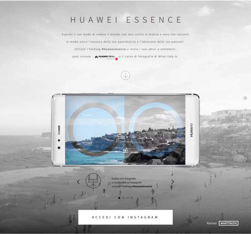 """Concorso Fotografico """"Huawei Essence"""""""