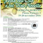 Olevano Romano: appuntamento con la XIX^ edizione della Festa dell'Olio e del Vino Novello