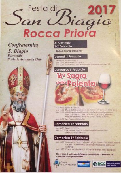 San Biagio Rocca Priora