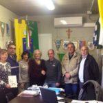 Segni: il Sindaco Boccardelli consegna il contributo economico al Sindaco di Accumoli