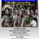 """""""L'Albanum di Settimio Severo tra archeologia, figure militari e antichi rituali"""""""