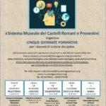 TORNANO GLI EDUCATIONAL DEL MUSEUMGRANDTOUR AI CASTELLI ROMANI E AI MONTI PRENESTINI
