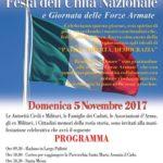 Rocca Priora: celebrazione della Giornata dell'Unità Nazionale e delle Forze Armate