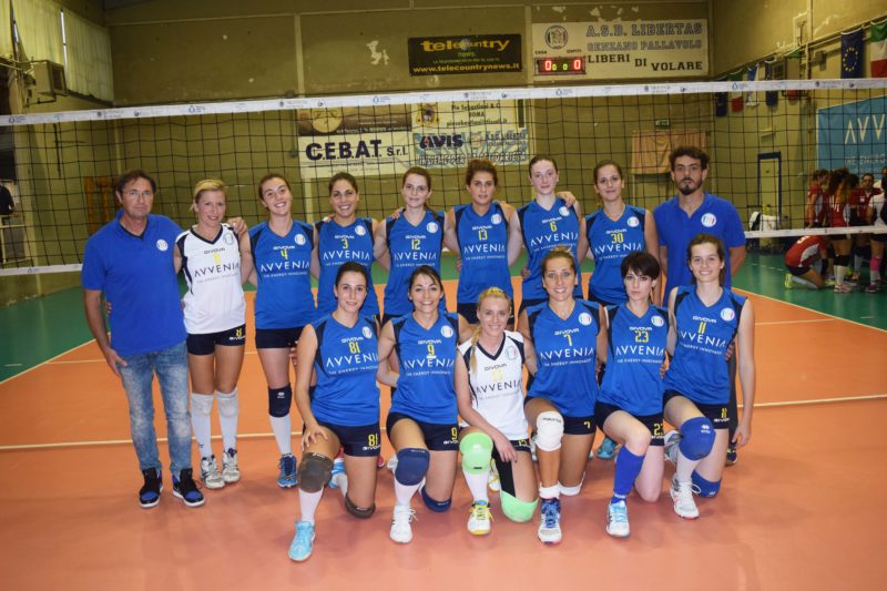 CS ROMA OUTLET CERAMICHE- PUNTOVOLLEY LIBERTAS 1-3 | LaNotizia2 di ...