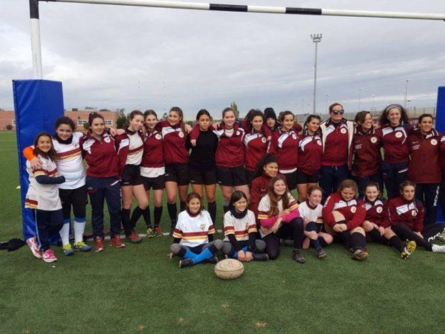 """Rugby Frascati Union 1949, che festa per il """"Rugby day"""" rosa a Spinoretico: doppio terzo posto"""