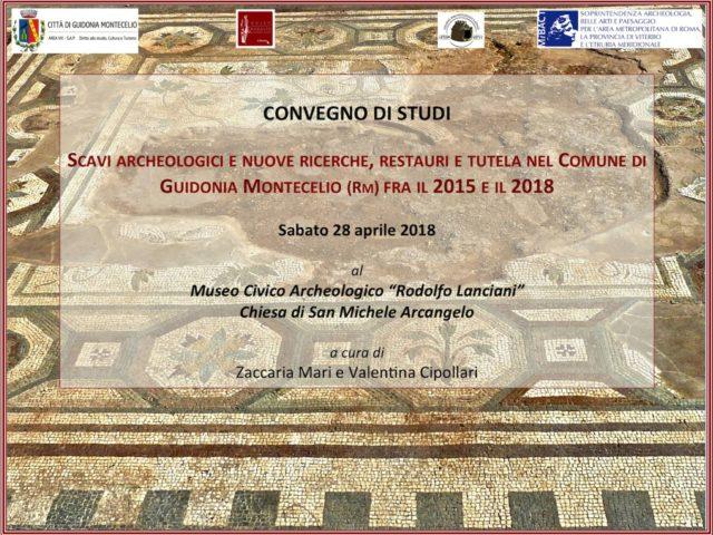 Convegno di Studi a Guidonia Montecelio sugli scavi archeologici nel suo territorio