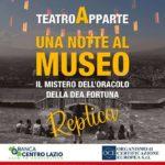"""Palestrina: a grande richiesta torna in scena """"Una notte al Museo"""""""