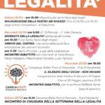 A PALESTRINA INIZIATIVE LEGATE ALLA MARCIA DELLA LEGALITA'