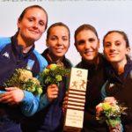 Frascati Scherma: Mancini, Errigo e Volpi seconde a squadre nella tappa Cdm di Tauber