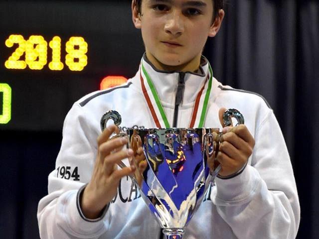 Frascati Scherma: Reale campione italiano Giovanissimi, Giovannelli seconda tra le Allieve
