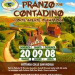 Artena: pranzo contadino e porte aperte in Fattoria Colle San Nicola