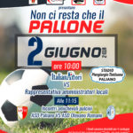 Calcio e solidarietà, la nazionale attori contro gli amministratori di Paliano