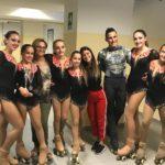 Asd Frascati Skating Club, quattro podi al trofeo internazionale di solo dance a Calderara di Reno