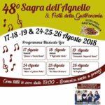 Colle di Fuori: Sagra dell'Agnello alla 48ª edizione