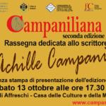 """""""Campaniliana"""" a Velletri, sabato 13 ottobre la conferenza stampa di presentazione per l'edizione 2018"""