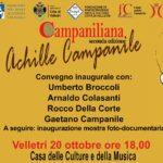 Ospiti d'eccezione  il 20 ottobre a Velletri