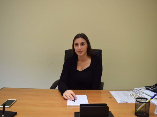 Lariano: il neo assessore Chiara Colasanti al lavoro