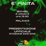 Invito Presentazione Stagione 2018/2019