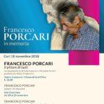 A CORI IN MEMORIA DI FRANCESCO PORCARI